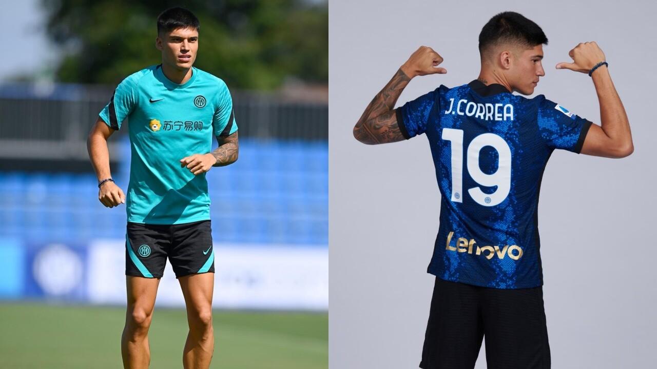 Correa, primo allenamento con l'Inter e maglia 19 come Cambiasso