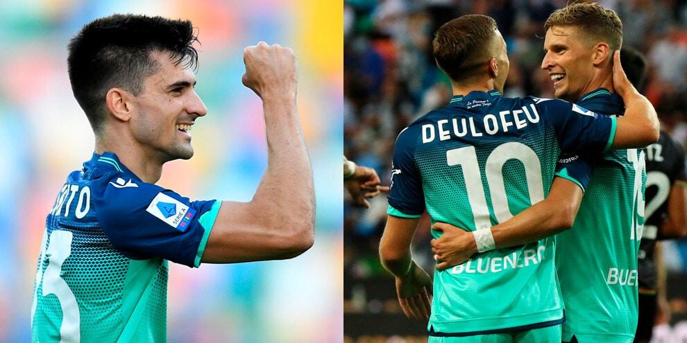 Esagerata Udinese: 3-0 al Venezia per il primo successo
