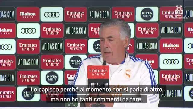 """Ancelotti ironico: """"Non mi aspettavo la domanda su Mbappé..."""""""