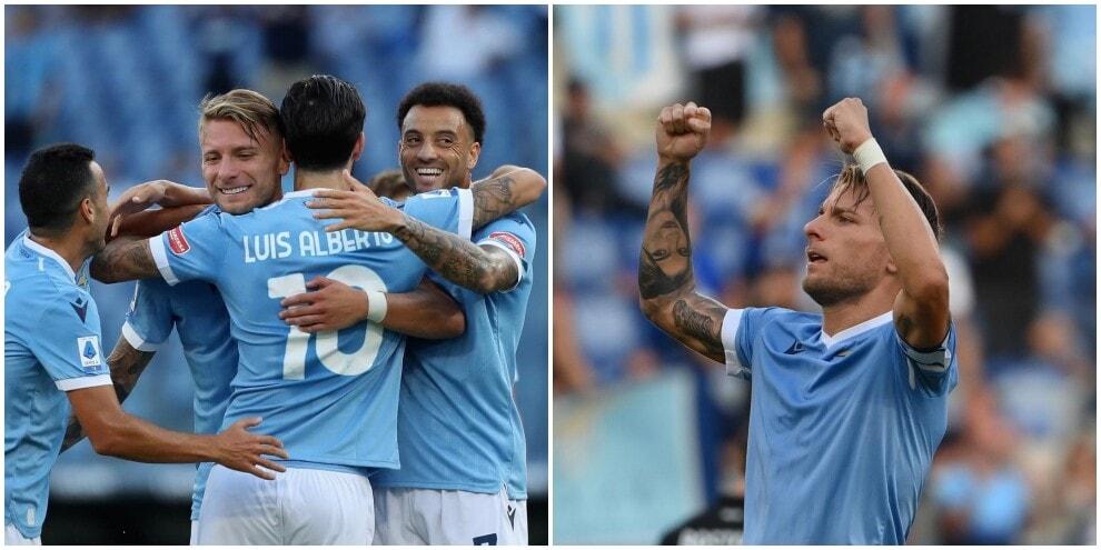 Lazio: Luis Alberto illumina, Immobile fa lo show: Spezia ko