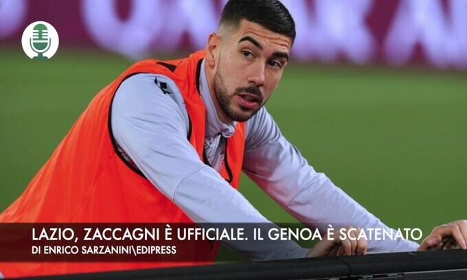 Lazio, Zaccagni è ufficiale. Il Genoa è scatenato