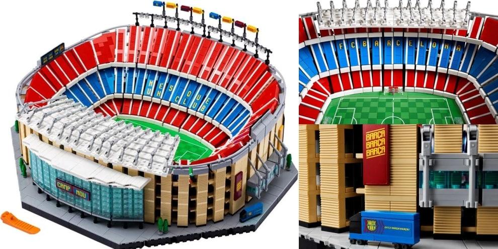 Barcellona, il Camp Nou diventa di Lego: il modellino già incanta i fan!