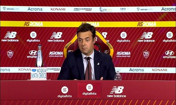 """Tiago Pinto: """"Dzeko, Florenzi e Pedro ceduti alle rivali? É un rischio.."""""""