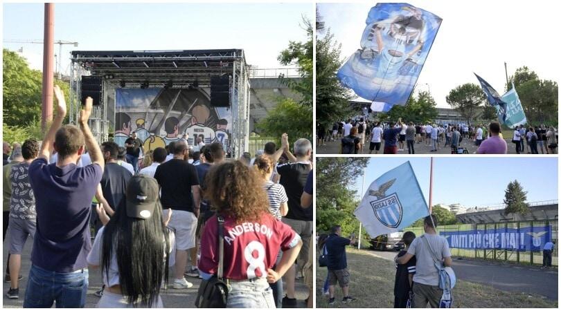 Lazio, i tifosi sognano il Flaminio: sit in fuori lo stadio