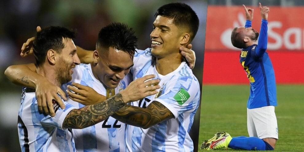 Inter, Correa e Lautaro da urlo con l'Argentina. Brasile di misura