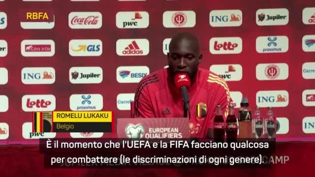 """Lukaku: """"Il calcio è divertimento? Sì, ma non per razzisti"""""""