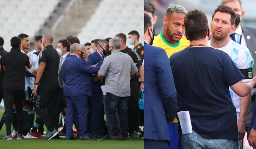 Brasile-Argentina, caos in campo: partita sospesa