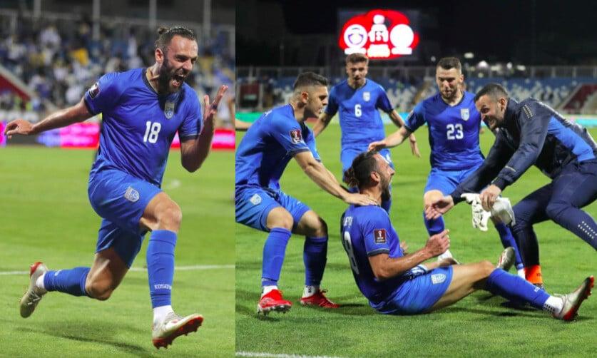 Lazio, Muriqi decisivo con il Kosovo: gol e super esultanza