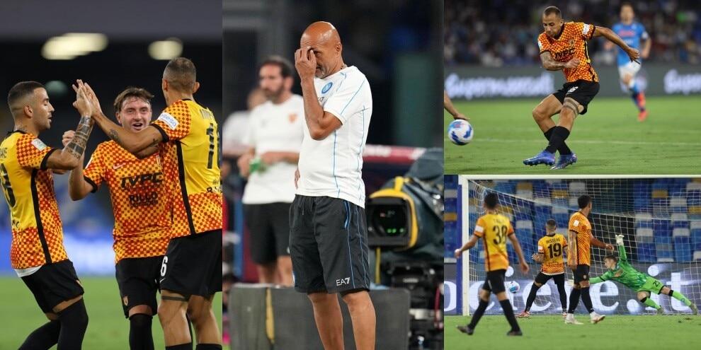 Benevento, che goleada al Napoli! Spalletti travolto 5-1