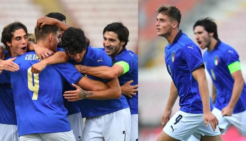 Italia Under 21, Colombo decisivo: 1-0 al Montenegro