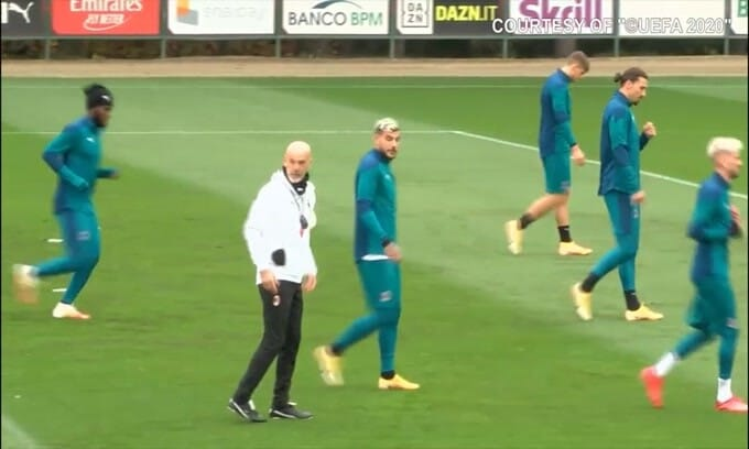 Milan, Ibrahimovic è pronto per la Lazio