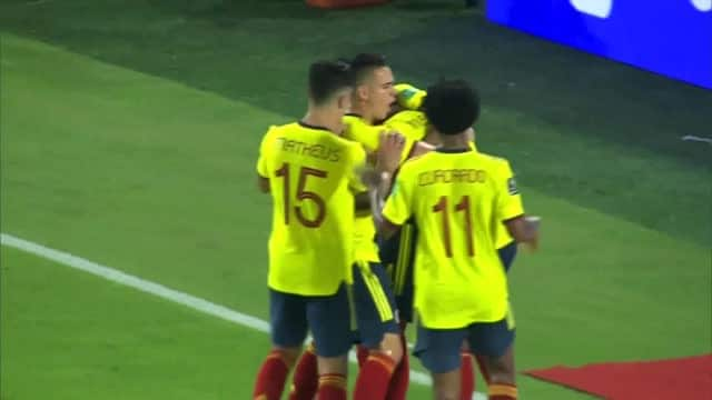 La Colombia inguaia il Cile, 3-1 nel nome di Borja