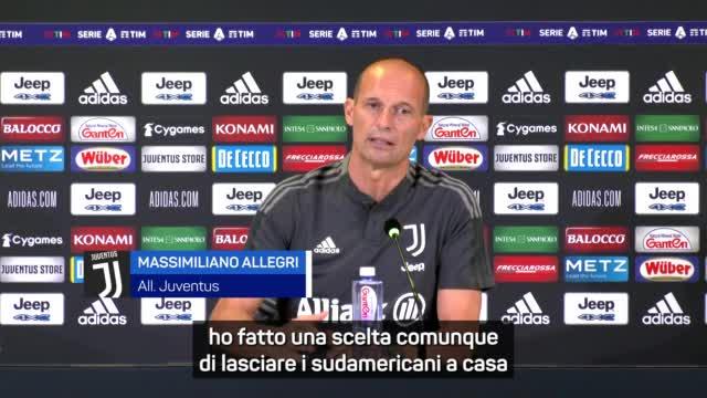 """Allegri non cerca alibi: """"Siamo contati ma a Napoli per vincere"""""""