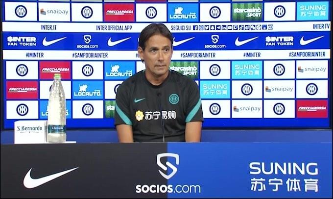 "Inzaghi: ""Bastoni salta la Sampdoria"""