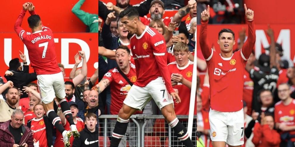 Ronaldo, gol all'esordio con il Manchester United