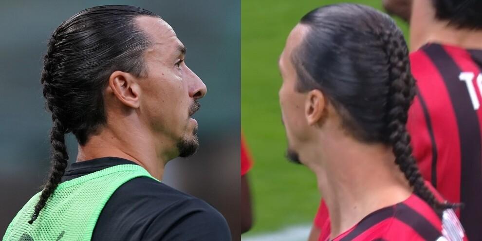 Ibrahimovic torna e cambia look: eccolo con la treccina