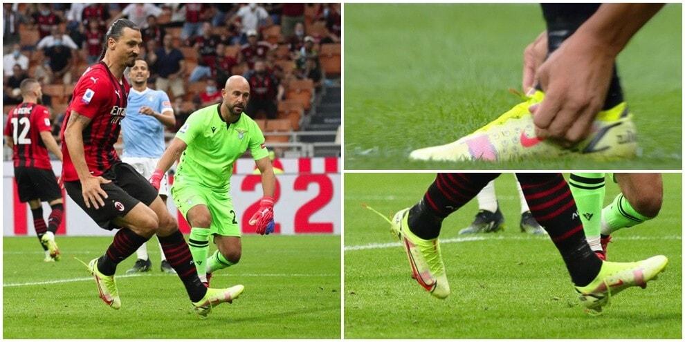Ibrahimovic incontenibile: in gol anche con gli scarpini slacciati