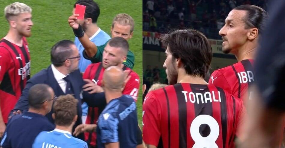 Milan-Lazio, la rabbia di Sarri a fine partita