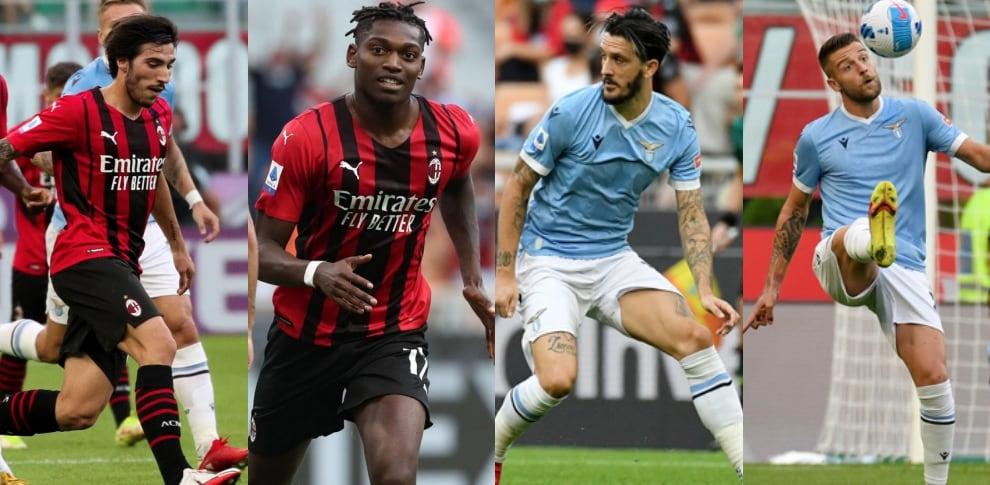 Pagelle Milan-Lazio: super Tonali, Milinkovic e Luis Alberto flop