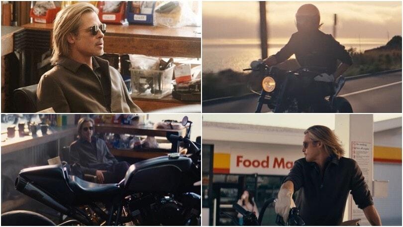 Brad Pitt in moto nel nuovo spot De' Longhi
