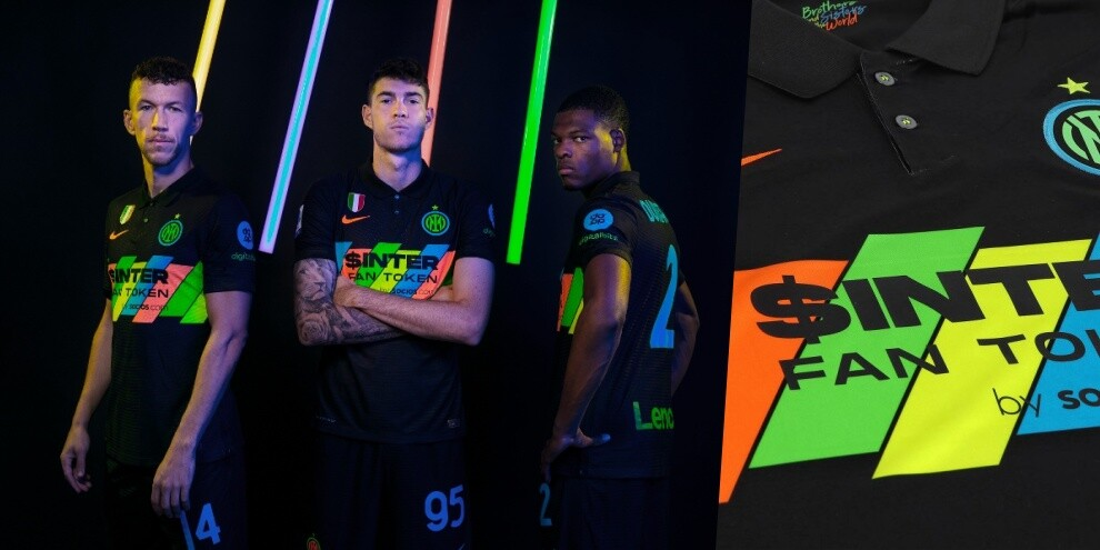 Inter, ecco la terza maglia 2021-22: quanti colori!