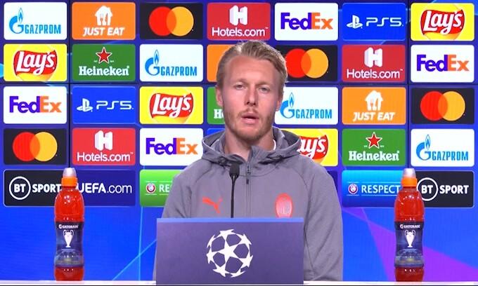 """Kjaer: """"Al Milan il miglior calcio della mia vita"""""""