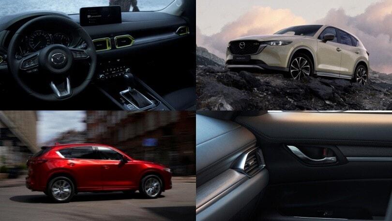 Mazda CX-5 2022: il SUV nipponico si aggiorna