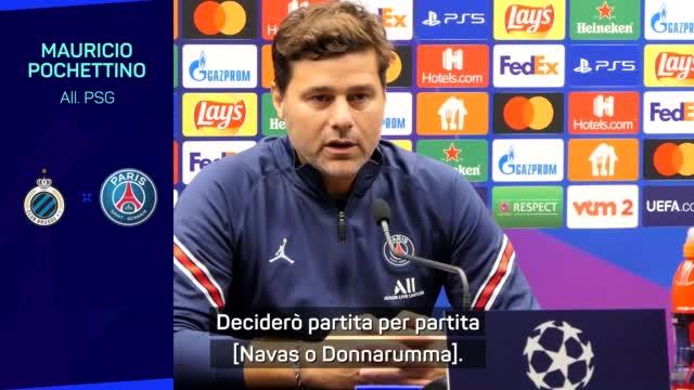 """Pochettino su Donnarumma: """"Decido partita per partita"""""""