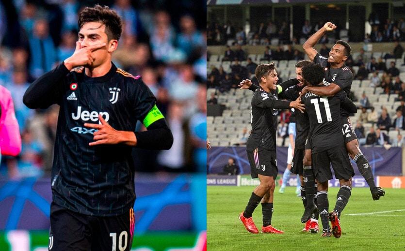 Juve, debutto ok in Champions: che tris al Malmoe