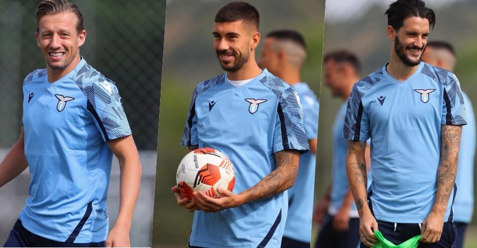 Lazio, quanti sorrisi in allenamento. E Sarri osserva…