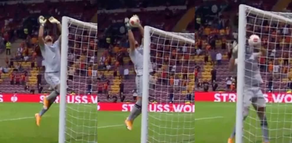 Strakosha, la FOTOSEQUENZA dell'errore in Galatasaray-Lazio