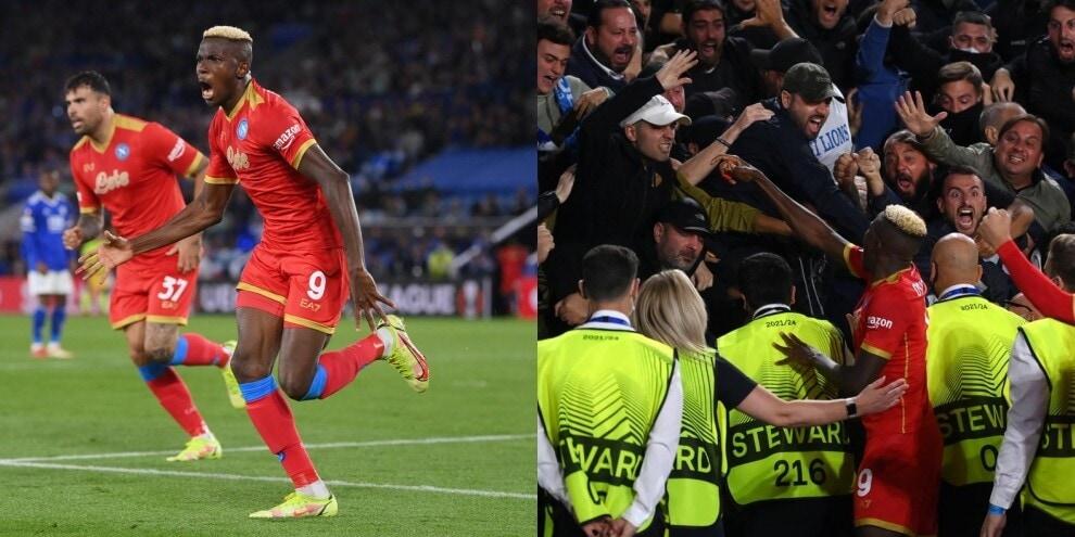 Osimhen show, che doppietta nel 2-2 tra Leicester e Napoli!