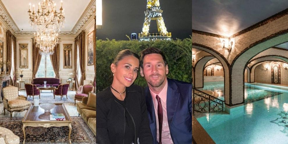 Parigi, dentro la villa da re che fa sognare Messi