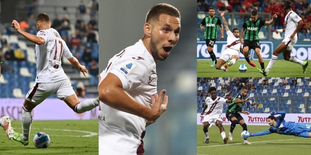 Pali e salvataggi, Sassuolo-Torino alla fine la decide Pjaca in 6'!