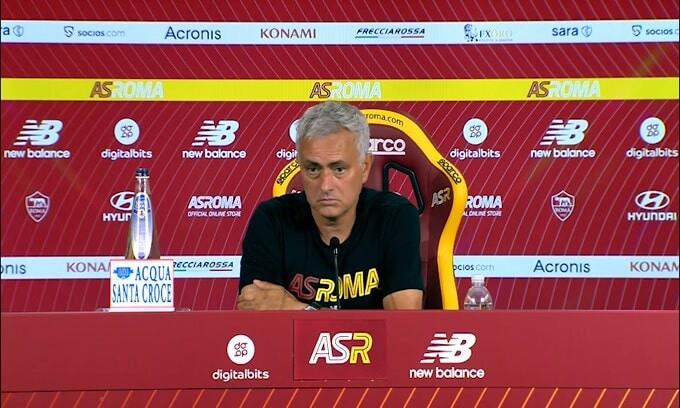 "Mourinho: ""Reintegro di Santon? Non ci penso"""