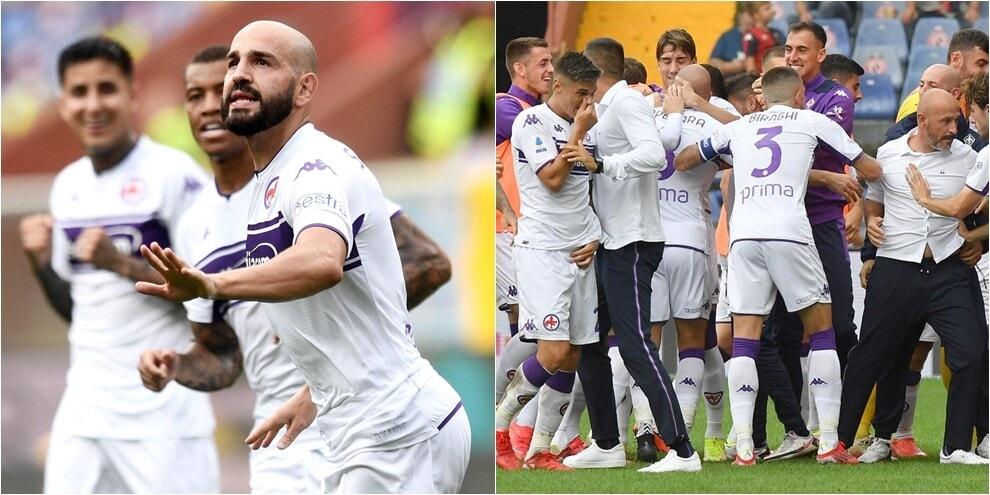 La Fiorentina vince a Marassi: 2-1 al Genoa con Saponara e Bonaventura