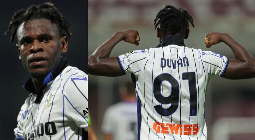 Atalanta, Zapata mostra i muscoli dopo il gol alla Salernitana
