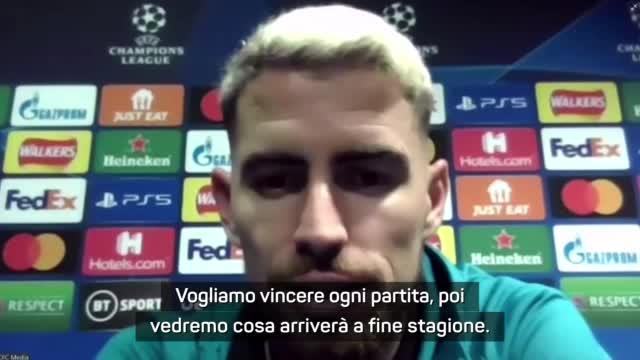 """La carica di Jorginho: """"Vogliamo vincere tutto con Lukaku"""""""