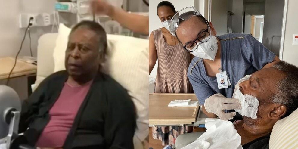 Pelé in diretta dall'ospedale in Brasile: la situazione