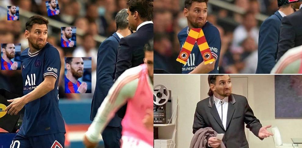Messi sostituito da Pochettino: l'espressione scatena le ironie social