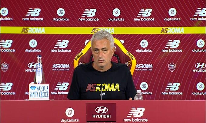 """Mourinho: """"Non deprimiamoci per una sconfitta"""""""
