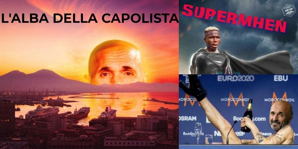 """""""L'alba della capolista"""": il web si scatena dopo la vittoria del Napoli"""