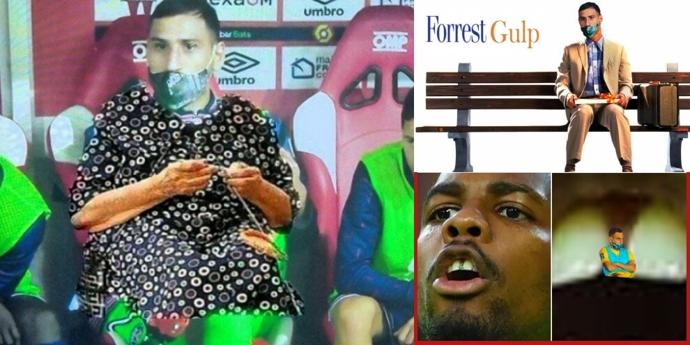 Donnarumma scontento al Psg: meme e ironie sui social