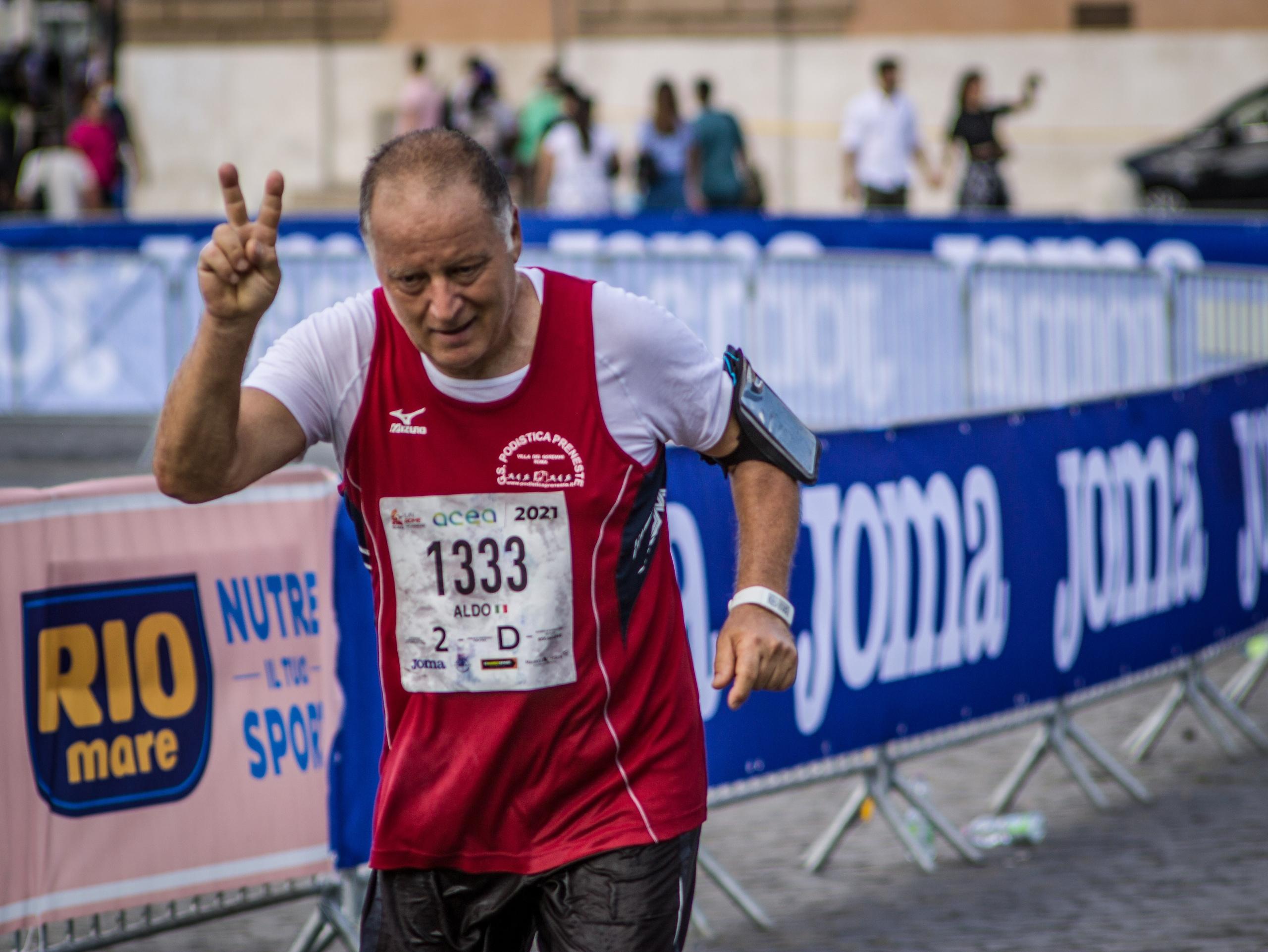 "I ""Senatori"" di Acea Run Rome The Marathon"