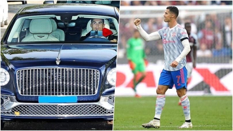 Cristiano Ronaldo, Bentley Flying Spur si aggiunge alla collezione di supercar