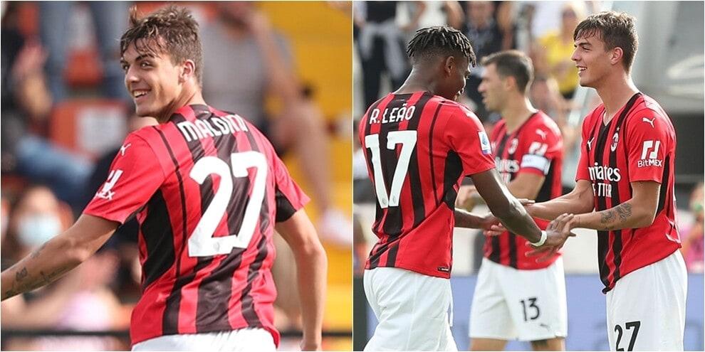 Milan, 2-1 allo Spezia: gol storico al debutto per Daniel Maldini!
