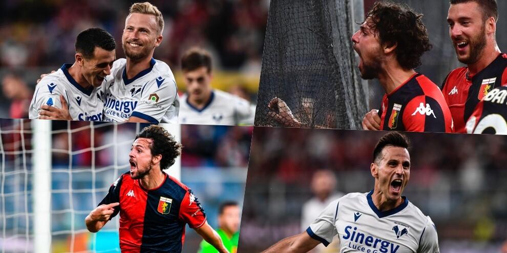 Doppietta Destro, poi Kalinic: 3-3 show Genoa-Verona!