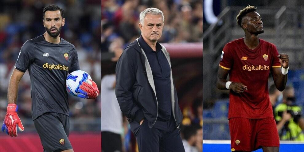 Lazio-Roma, la probabile formazione di Mourinho