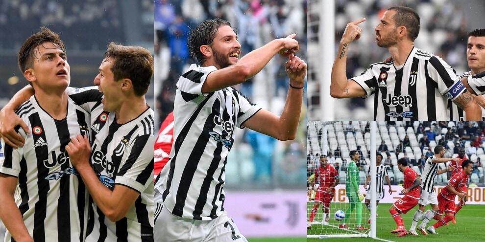 Tris Juve con il primo gol di Locatelli: Samp ko
