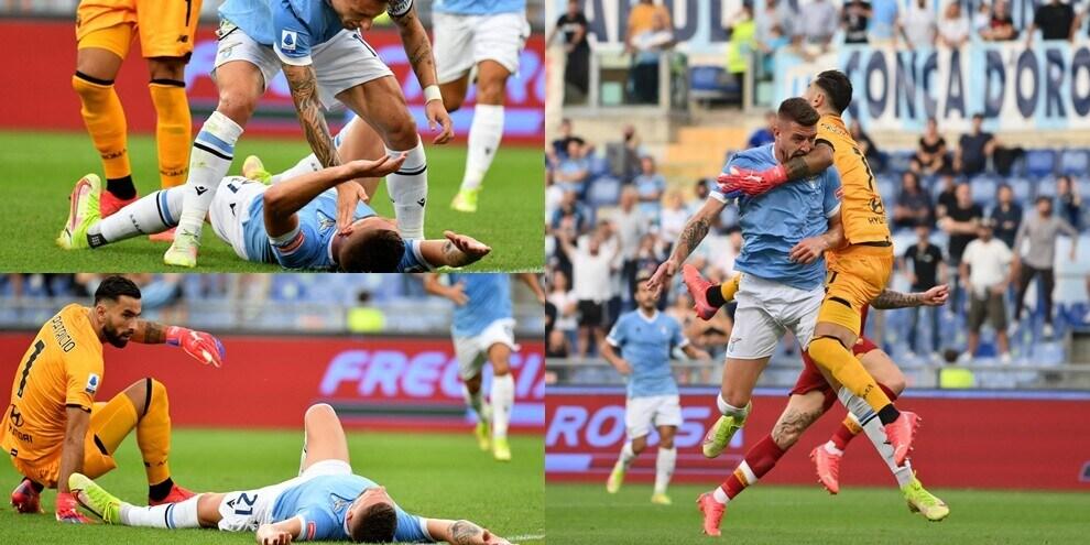Lazio-Roma, Milinkovic fa 1-0: che paura lo scontro con Rui Patricio